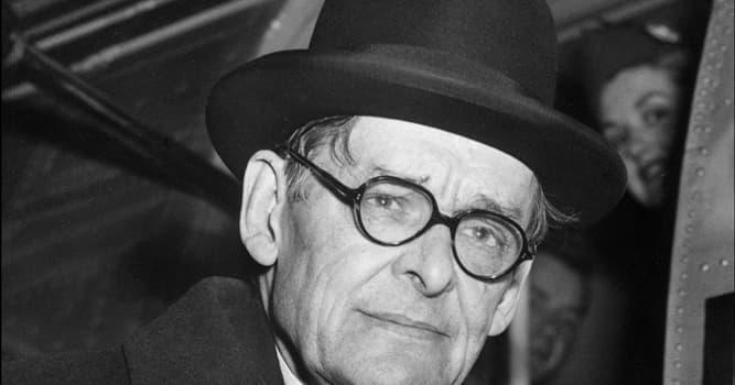 """Kultura Pytanie-Ciekawostka: Co oznaczają inicjały """"T.S."""" w imieniu T.S. Eliot?"""