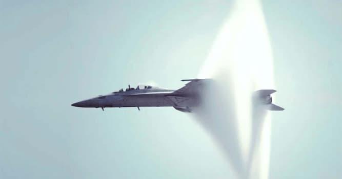 nauka Pytanie-Ciekawostka: Co przekracza prędkość supersoniczna?