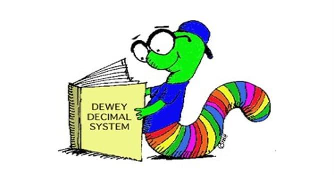 Kultura Pytanie-Ciekawostka: Gdzie najprawdopodobniej zapoznasz się z systemem klasyfikacji dziesiętnej Deweya?
