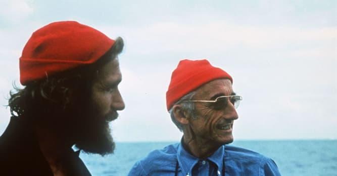 nauka Pytanie-Ciekawostka: Jacques Cousteau jest znany jako współtwórca czego?