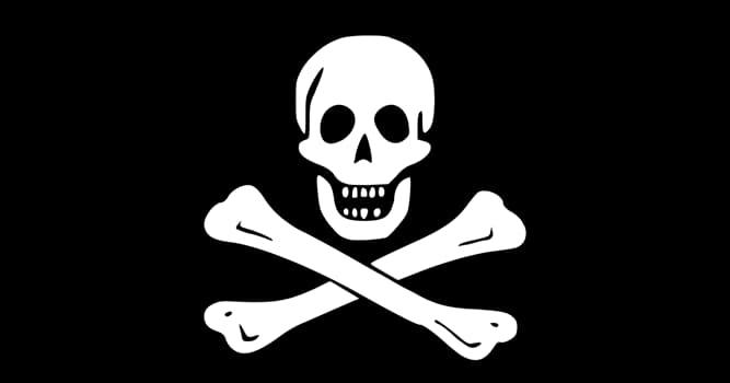 Kultura Pytanie-Ciekawostka: Jak nazywa się bandera piratów przedstawiająca czaszkę i skrzyżowane piszczele na czarnym tle?