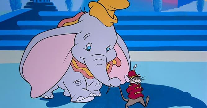 Filmy Pytanie-Ciekawostka: Jak nazywa się mysz, z którą zaprzyjażnił się słoń Dumbo w bajce Disneya?
