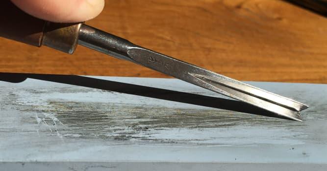 Kultura Pytanie-Ciekawostka: Jak nazywa się ostrzenie ostrza narzędzia?
