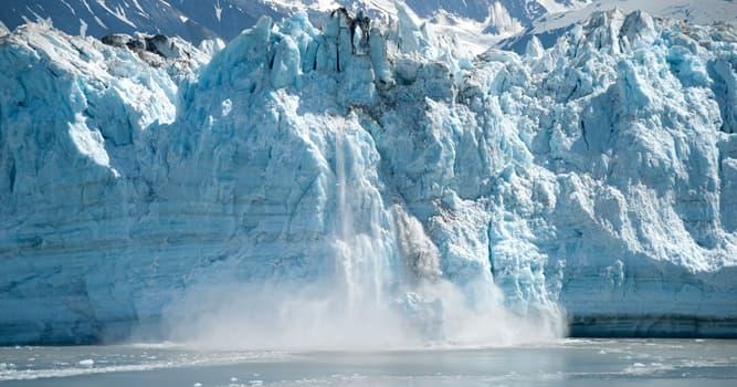 natura Pytanie-Ciekawostka: Jak nazywa się proces odłamywania się fragmentów lodowca?