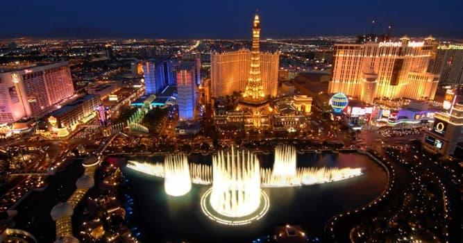 Geografia Pytanie-Ciekawostka: Jaki przydomek ma główna ulica Las Vegas?