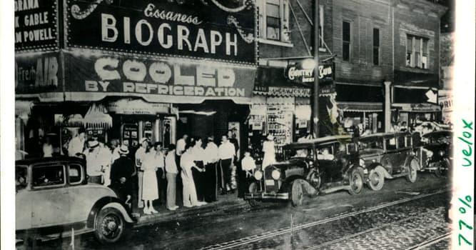historia Pytanie-Ciekawostka: Jaki gangster został zastrzelony przez agentów FBI w Biograph Theater w Chicago w 1934 roku?