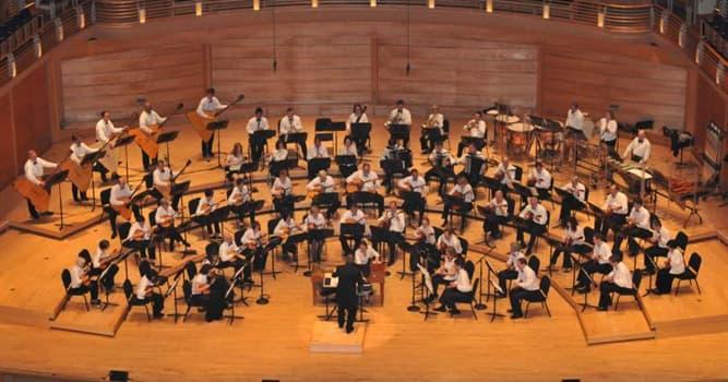 Kultura Pytanie-Ciekawostka: Do jakiego zespołu instrumentalnego orkiestry należy marimba?