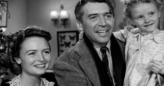 """Filmy Pytanie-Ciekawostka: Kogo zagrał Jimmy Stewart w filmie """"To wspaniałe życie""""?"""