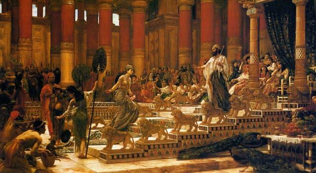 Cultura Pregunta Trivia: ¿Según la Biblia, qué rey intercambió comida por madera para reunir materiales de construcción para su templo?
