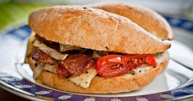 Kultura Pytanie-Ciekawostka: Kto wynalazł kanapkę?