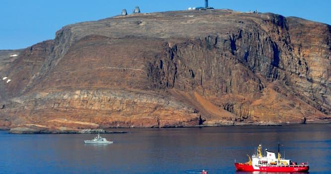 Geografia Pytanie-Ciekawostka: Która wyspa w Arktyce jest przedmiotem sporu między Danią i Kanadą?