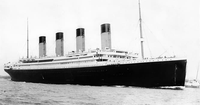 historia Pytanie-Ciekawostka: Które przedsiębiorstwo żeglugowe obsługiwało RMS Titanic?