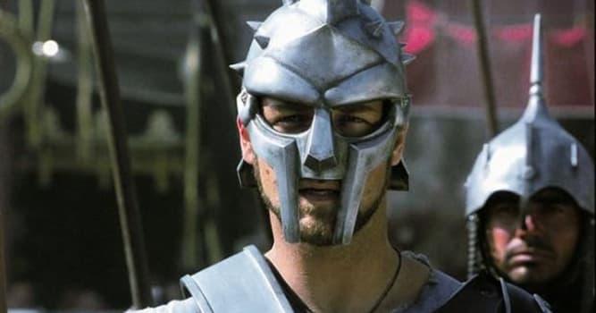 """Filmy Pytanie-Ciekawostka: Który aktor (aktorzy) zagrał w filmie """"Gladiator"""" 2000 roku?"""
