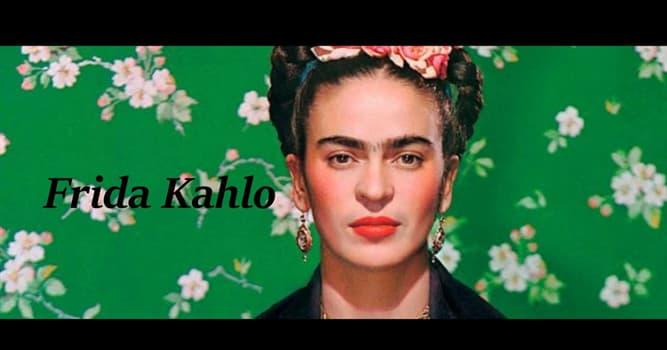 """Kultura Pytanie-Ciekawostka: Uzupełnij tytuł słynnej pracy Fridy Kahlo """"Co dała mi ___"""""""