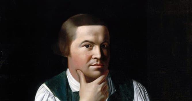 historia Pytanie-Ciekawostka: W jakim słynnym proteście brał udział Paul Revere?