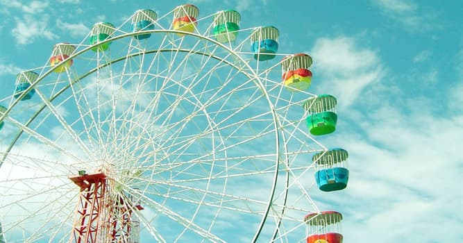 Culture Trivia Question: What is this amusement ride called?