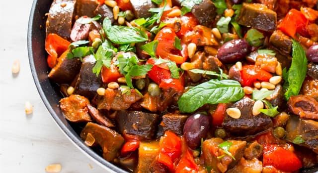 Cultura Pregunta Trivia: ¿Qué tipo de plato es la caponata?