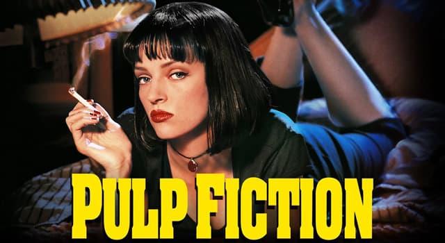 """Películas Pregunta Trivia: ¿Qué actriz interpretó a Mia Wallace en la película """"Pulp Fiction"""" de 1994?"""