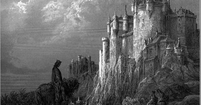 Kultura Pytanie-Ciekawostka: Z kim najczęściej kojarzy się legendarny zamek Camelot?