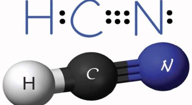 Сiencia Pregunta Trivia: ¿Qué olor tiene el ácido prúsico?