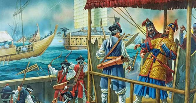 History Trivia Question: In which year did the Japanese invasions of Korea start?