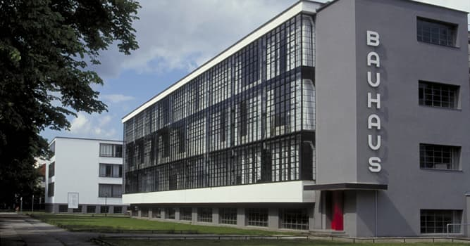 Culture Trivia Question: In which year was the Bahaus School of Design closed?