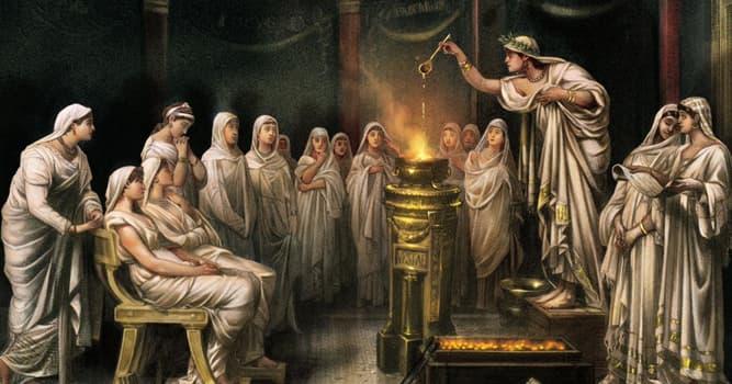 Historia Pregunta Trivia: ¿Durante cuántos años se suponía que las vestales debían hacer voto de castidad en la antigua Roma?