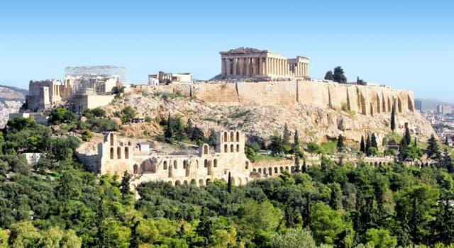 Geografía Pregunta Trivia: ¿Qué ciudad europea tiene la acrópolis más emblemática?