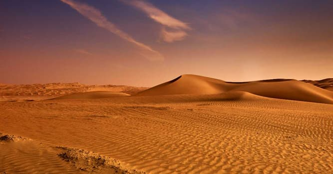 Geography Trivia Question: Where would you find the Great Sandy Desert?