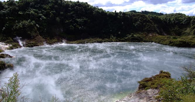 Geography Trivia Question: Which is the world's largest hot spring?