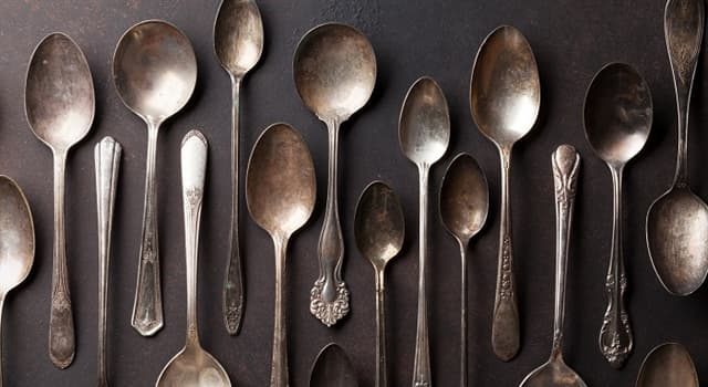 Cultura Pregunta Trivia: ¿Cuál de estas cucharas es la más grande?