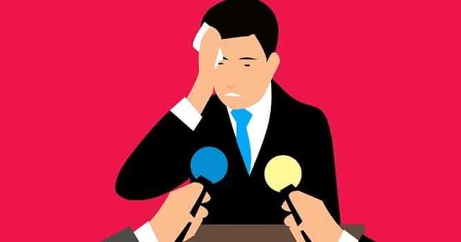 Gesellschaft Wissensfrage: Wie heißt die Angst, vor dem Publikum zu sprechen?