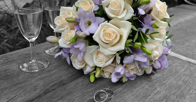 Society Trivia Question: A couple celebrating their crystal wedding anniversary have been married for how many years?