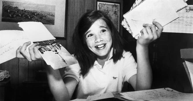 History Trivia Question: American schoolgirl Samantha Smith became famous because of her letter to whom?