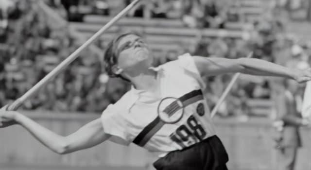 Deporte Pregunta Trivia: ¿Quién tiene el récord mundial femenino de lanzamiento de jabalina a fecha de 2020?
