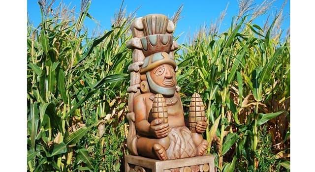 Cultura Pregunta Trivia: ¿Qué era Chicomecōātl en la mitología azteca?