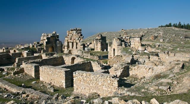 Historia Pregunta Trivia: ¿Cuál es el antiguo nombre de Troya?