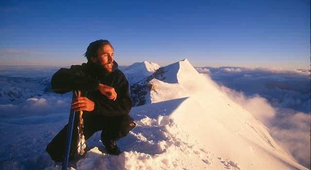 Deporte Pregunta Trivia: ¿Qué hace de Erik Weihenmayer un alpinista único?