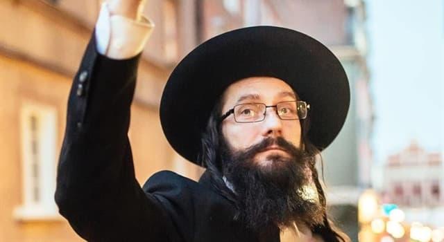 """Cultura Pregunta Trivia: ¿De qué lenguaje proviene la palabra """"rabino""""?"""