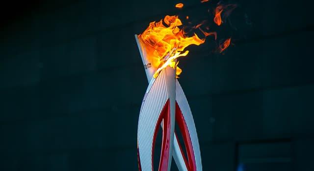 Deporte Pregunta Trivia: ¿Dónde se enciende la llama olímpica antes del comienzo de los Juegos Olímpicos?