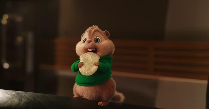 """Películas Pregunta Trivia: ¿Cuántas ardillas hay en la película """"Alvin y las ardillas""""?"""