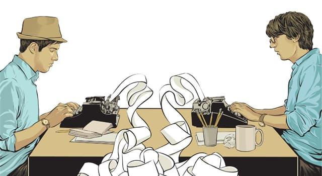 Cultura Pregunta Trivia: ¿Quién crea trabajos literarios que se acreditan normalmente a otra persona?