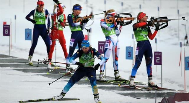 Deporte Pregunta Trivia: ¿Qué deporte olímpico combina el esquí de fondo y el tiro con carabina?