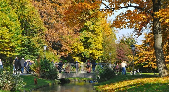 Culture Trivia Question: Located in Munich, what is the name of one of the biggest parks in the world?