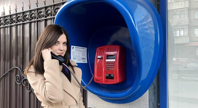 Sociedad Pregunta Trivia: ¿Cómo se llama el teléfono que se ubica fijo al aire libre?