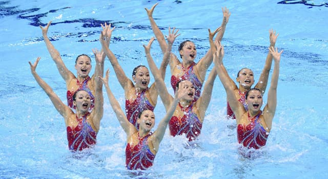 Deporte Pregunta Trivia: ¿Cuál de las siguientes es una disciplina que combina natación, gimnasia y danza?
