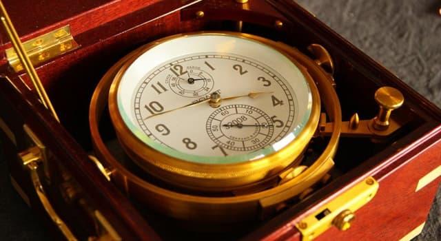 Sociedad Pregunta Trivia: ¿Cuál de los siguientes es un reloj de alta precisión?
