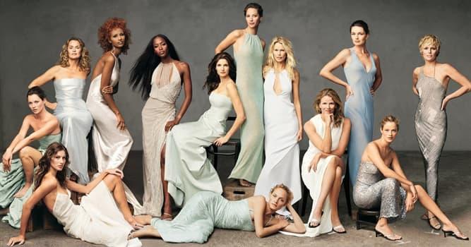 Sociedad Pregunta Trivia: ¿Cómo se le llama a una modelo que es muy bien pagada y goza de fama mundial?