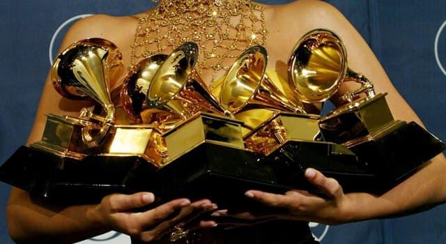 Cultura Pregunta Trivia: ¿Cuál de estos premios se concede para reconocer logros en la industria musical?