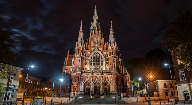 Culture Trivia Question: Which religion dominates in Poland?
